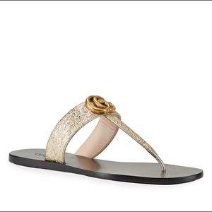 Gucci Marmont thong sandal